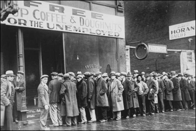 Beginning of the Great Depression